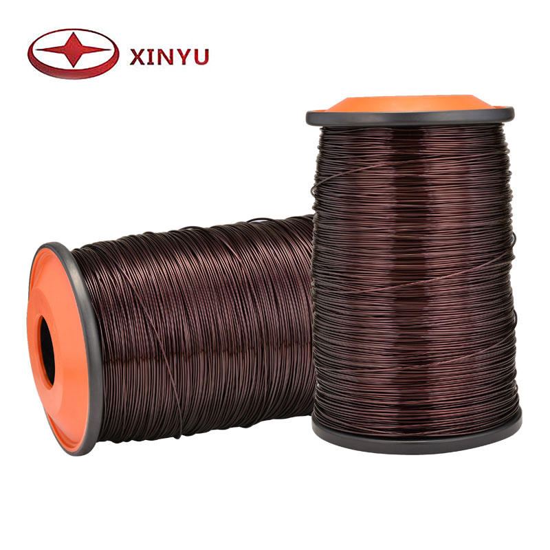 Calibre AWG 5-22 QZY-2/180 Enamelled Copper Wire For Transformer