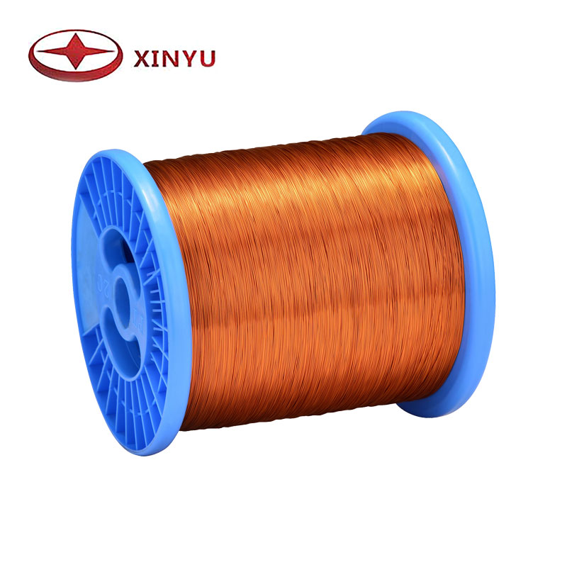 0.25-0.50mm 200C Polyamide-Imide Magnet Copper Wire For Electric Motor Coil Winding