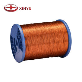 0.10-0.30mm 200C Polyamide-Imide Enamelled Copper Wire For Ceiling Fan Coil Winding