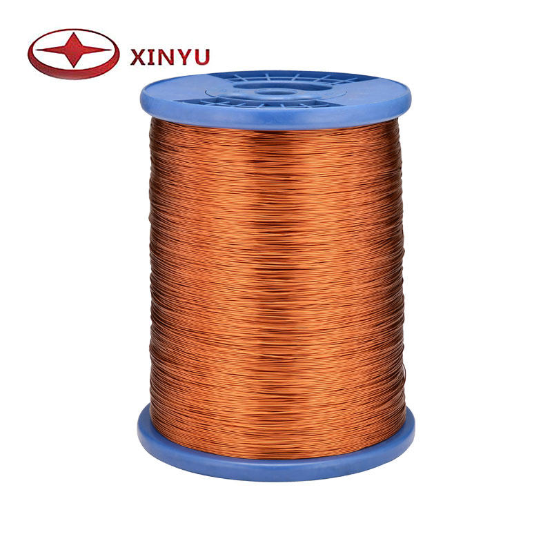 0.25-0.50mm 130C Polyester Enamelled Copper Wire For Electric Motor Coil Winding
