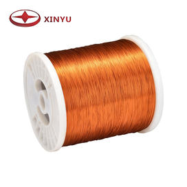0.25-0.50mm 200C Polyamide-Imide Enamelled Copper Wire For Electric Motor Coil Winding
