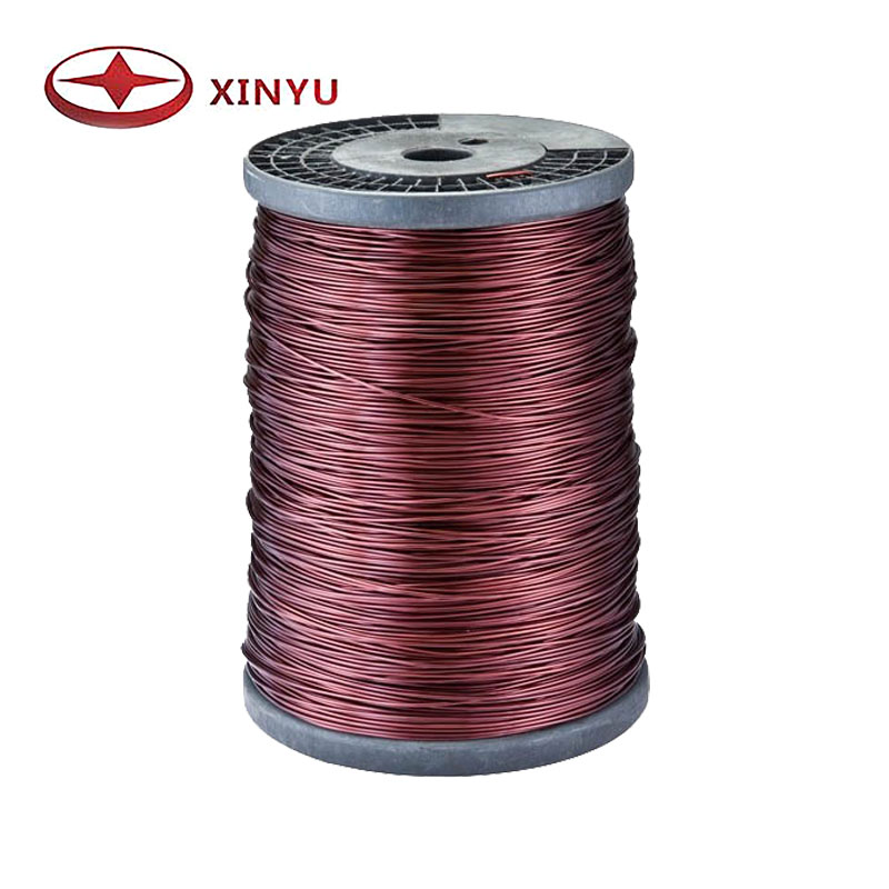 1.00-3.00mm 180C Polyester Enamelled Copper Wire For Transformer Winding Material