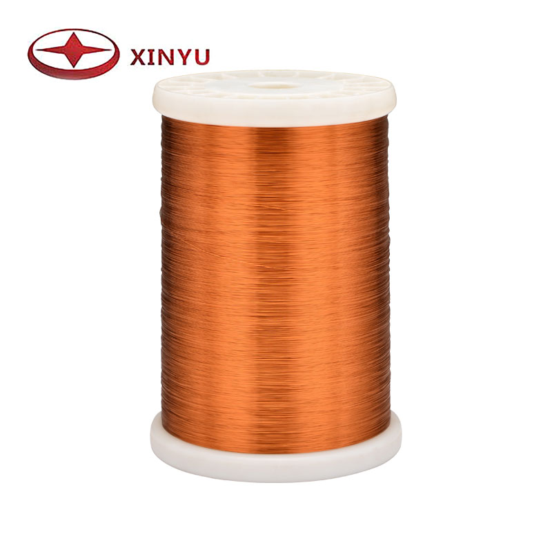 0.10-0.30mm 180C Polyester Enamelled Copper Wire For Ceiling Fan Coil Winding