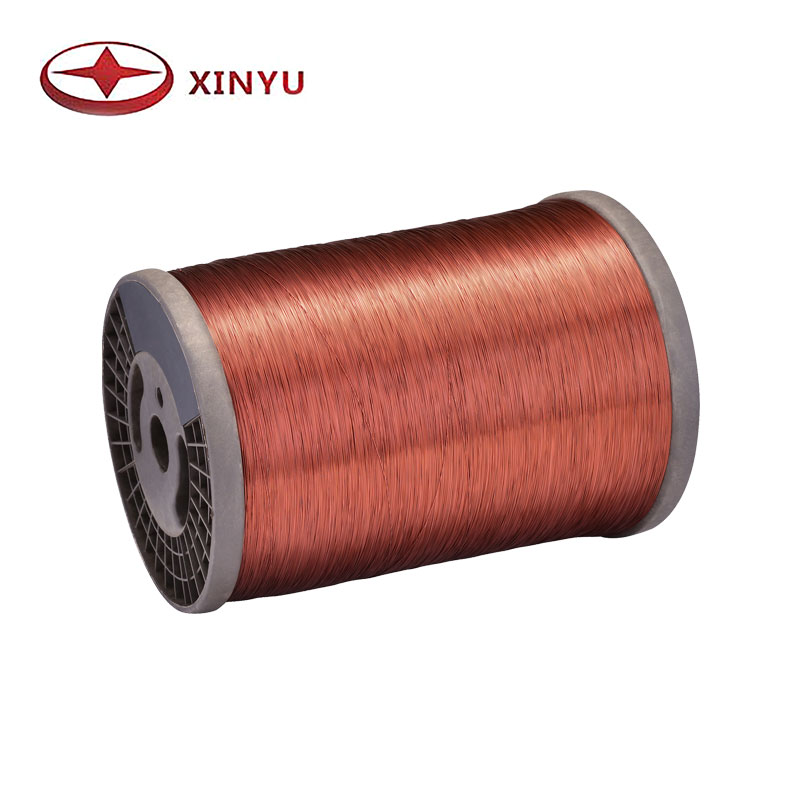 0.50-0.80mm 130C Polyester Aluminum Magnet Wire For Washing Machine Coil Winding