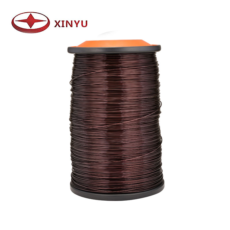 0.50-0.80mm 130C Polyester Aluminum Magnet Wire For Choke Coil Winding